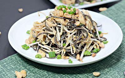 High-Protein Chicken & Peanut Black Bean Pasta Recipe