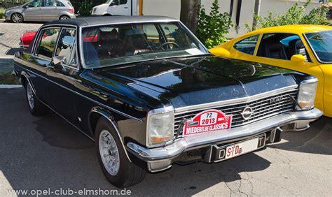 Opel Diplomat by Opel Diplomat B Opel Club Elmshorn