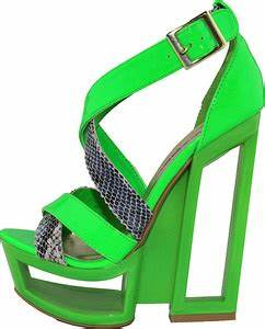 Dolce Neon Green Snake Skin Shoes — Fashion Junkie