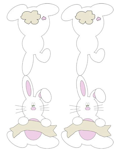 printable bunny place cards print  easter