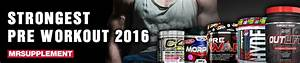 Strongest Pre Workout 2016