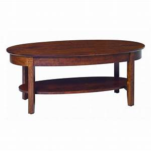 aaron39s oval coffee table amish crafted furniture With amish furniture coffee table