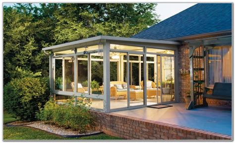 Building A Sunroom by Building A Small Sunroom Addition Sunrooms Home