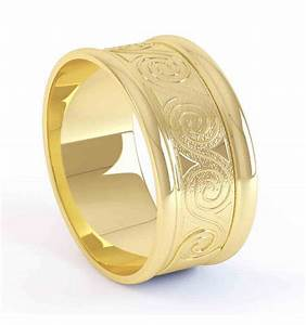 ladies gold celtic wedding band With ladies celtic wedding rings
