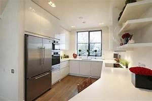 Küchen U Form Bilder : u form k che 35 designideen f r ihre moderne k cheneinrichtung k k pinterest design ~ Orissabook.com Haus und Dekorationen