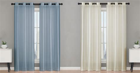 Kohls Sheer Curtain Panels by Kohl S Cardholders 2 Pack Curtains Only 6 99