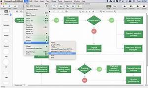 Create Visio Flowchart