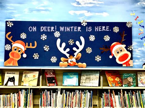 Winter Bulletin Board Ideas For December Or January