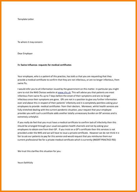 cover letter format     concern note