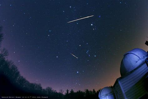 What Time Tonight Meteor Shower - geminid meteor shower peaks tonight universe today