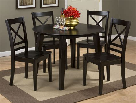 espresso dining room set simplicity espresso extendable drop leaf dining room