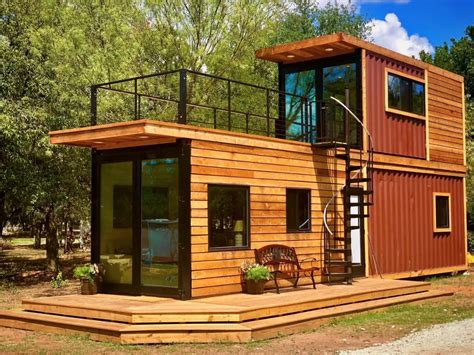 Shipping Container Homes by The Helm Shipping Container Cabin By Cargohome