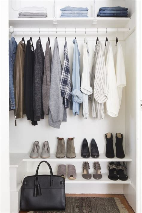 25 best ideas about minimalist closet on