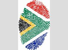 Free illustration South Africa, Flag, Fingerprint Free
