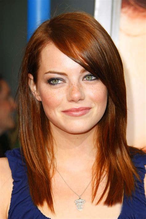 Red Hair Emma Stone Famous Hair Pinterest My Hair