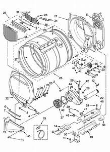 Whirlpool Ywed9200sq1 Dryer Parts