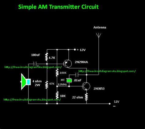 Free Circuit Diagrams Simple Transmitter