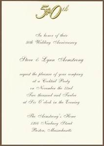 printable 50th golden anniversary invitation party ideas With free printable golden wedding invitations
