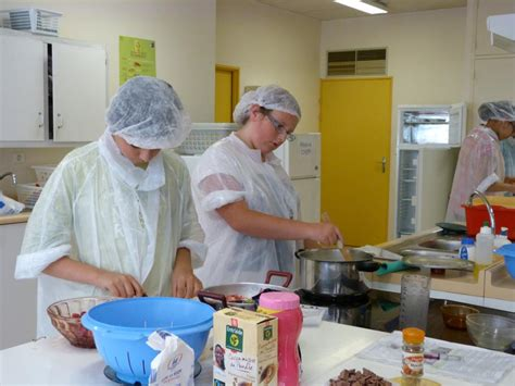 projet atelier cuisine atelier cuisine collège antoine de exupéry