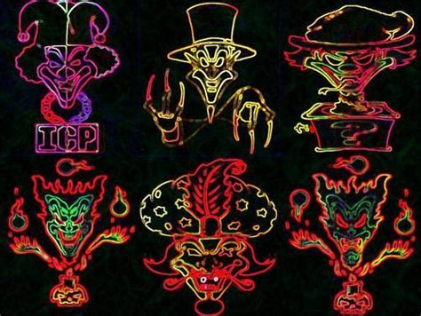 The Gallery For > Insane Clown Posse Jokers Cards Wallpaper