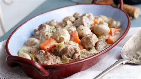 bouillon blanc en cuisine blanquette de veau avec vin blanc cookeo