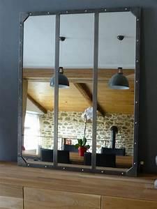cfactory creation miroir acier brosse With miroir factory