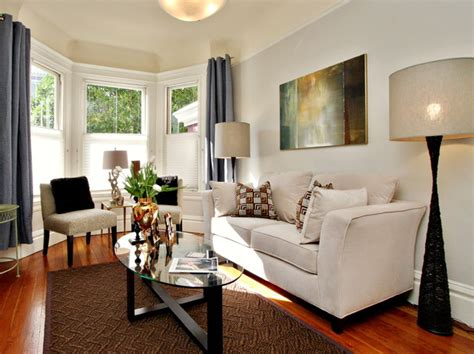 Livingroom Lights San Francisco Home Staging