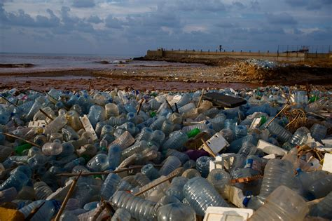On Lebanon's Once-sparkling Shores, A Garbage Dump Grows
