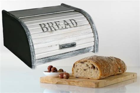 Small Bread Box Bread Bin Wooden Bread Box Shabby Chic