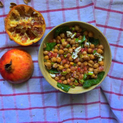 cuisine majorquine recette du jour salade pois chiche grenade rock my casbah