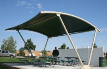 parks recreation structures park shade canopies