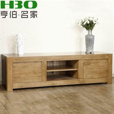 meuble tv bois massif moderne mzaol