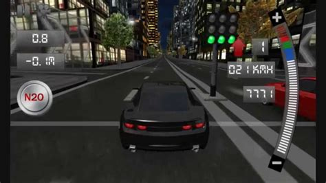Drag Racing 3d (old Version 1.3) Gameplay Android Trailer