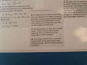 Gesamtstromstärke Berechnen : schaltung von widerst nden nanolounge ~ Themetempest.com Abrechnung