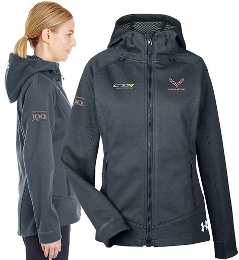 corvette racing ladies jacket size medium  chevymall