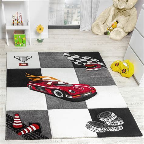 tappeto da corsa tappeto per bambini da gioco con auto da corsa per ragazzi