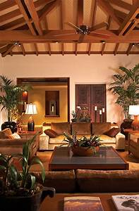 luxury dream home design at hualalai by ownby design With tropical interior design living room