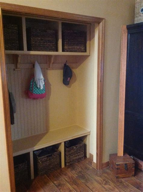 ana white closet mud room diy projects