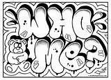 Graffiti Drawing Cool Coloring Sketches Getdrawings Omg sketch template