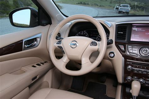 nissan pathfinder 2015 interior 2015 nissan pathfinder 4x4 awd control the truth about cars