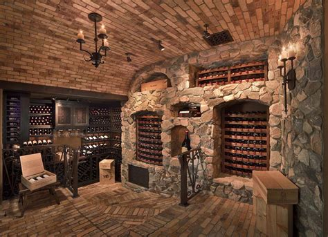 Custom Luxury Wine Cellars (40 Photos)  Page 2 Of 2. Barrel Chairs. Metal Art. Glass China Cabinet. Floor To Ceiling Cabinets. Behind Couch Bar Table. Jotul Gas Stoves. Eurostylelighting. Houzz Landscaping