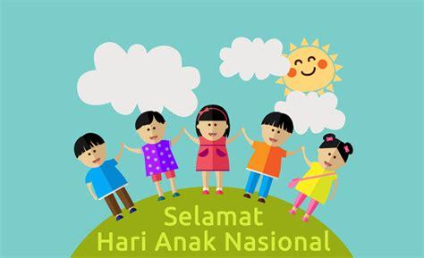 perayaan hari anak nasional jadi trending topik di