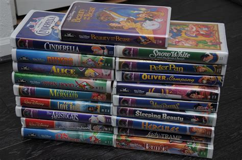 if you have old disney vhs tapes stashed around they