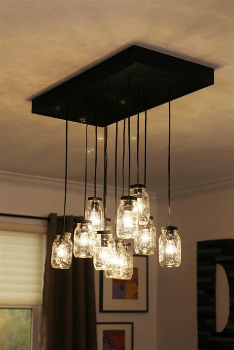 diy mason jar chandelier ideas guide patterns