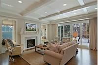 family room ideas Great Neighborhood Homes - Custom Home Builder   Modern ...