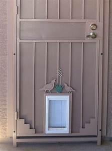 security door with pet door ironcraft in az With best dog door for security