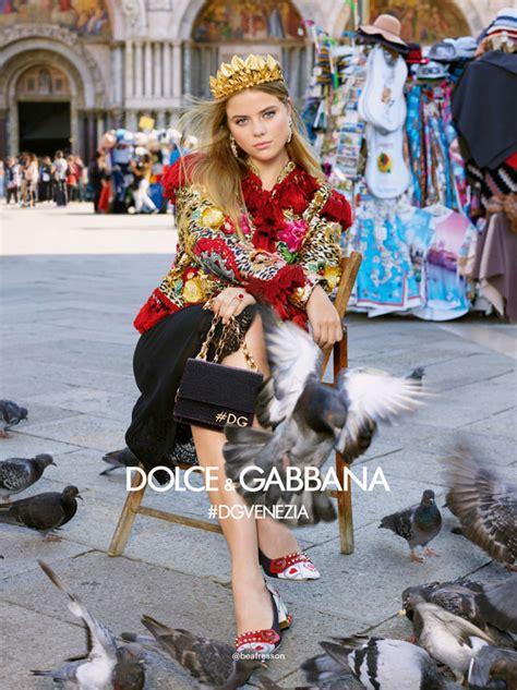 dolcegabbana women spring ad campaign tom lorenzo