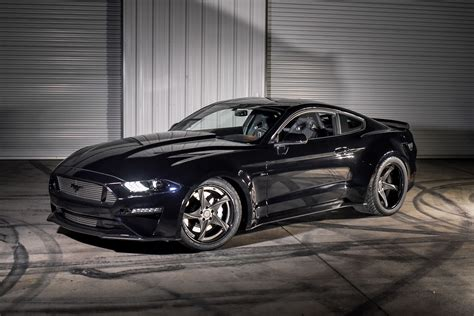 Ford Mustang by 2018 Ford Mustang Likes Its Wheels And Fenders Wide