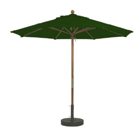 grosfillex 98912031 9 ft forest green market umbrella