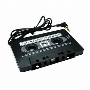 Car Audio Tape Cassette To Jack Aux For Ipod Mp3 Iphone